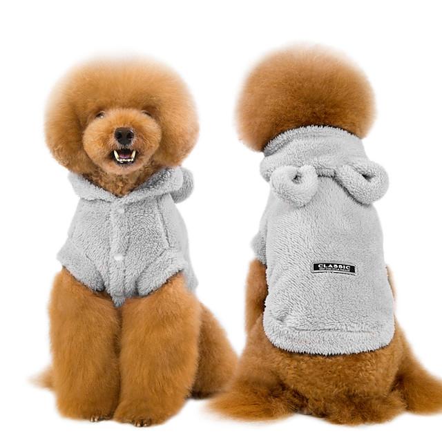 naladoo pet cat puppy hoodie sweater cute bear ear hoodies dog cold weather coat