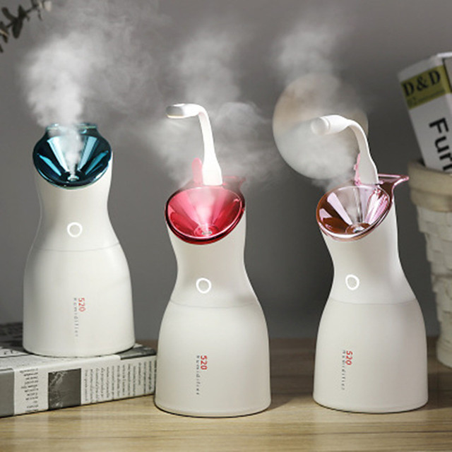 Purple Light Disinfection Lamp Humidifier Beauty Humidifier Usb Household Large Capacity Car Humidifier