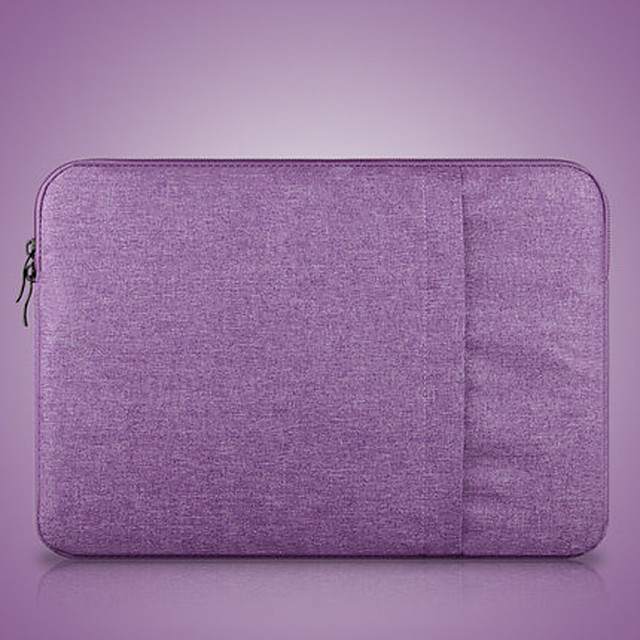 11.6 Inch Laptop / 12 Inch Laptop / 13.3 Inch Laptop Sleeve / Tablet Cases Polyester Solid Colored / Textured for Men for Women for Business Office Waterpoof Shock Proof