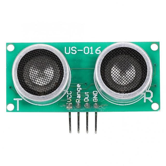 us-016 høy nøyaktighet digital ultrasonisk variasjonssensor avstandsmåle modul for spenning analog utgang