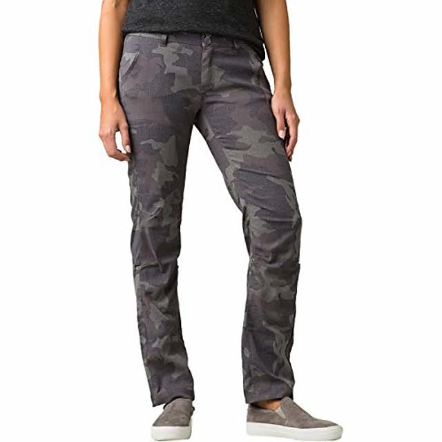 halle straight pant - women's gravel camo, 14/short