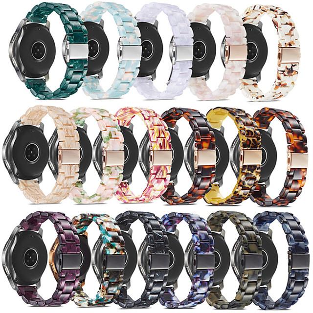 Smartwatch-Band für Samsung Galaxy 1 pcs Sportband Harz Ersatz Handschlaufe für Ausrüstungssport Gang S3 Frontier Gang S3 Classic Gang S2 Classic Samsung Galaxy Watch 46 20mm 22mm