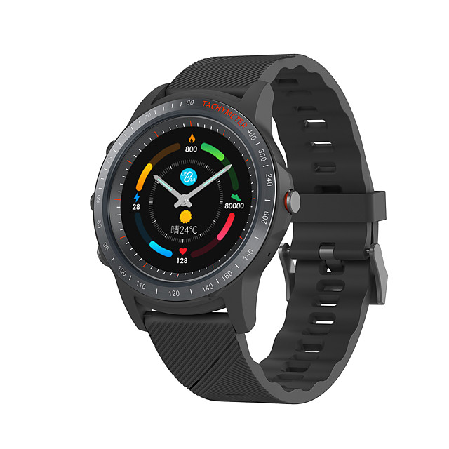 Mombasa S22 Smart Watch Perforated Screen Color Screen Bluetooth Call Body Data Monitoring Call Reminder Waterproof Stainless Steel Case