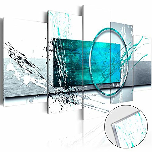 5 Panel Wall Art Canvas Prints Painting Artwork Picture Abstract Home Decoration Décor Stretched Frame / Rolled