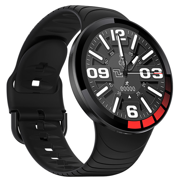 E3 Long Battery-life Smartwatch for IOS/Samsung/Android Phones, IP68 Water-resistant Bluetooth Fitness Tracker