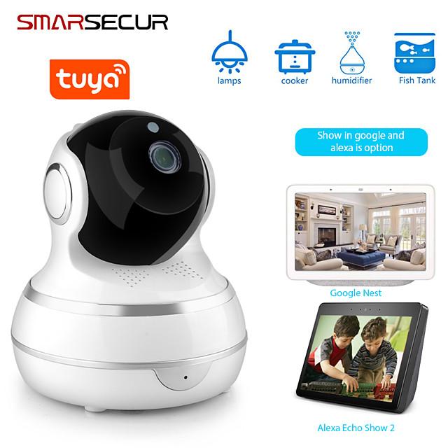 Tuya WIFI HD 1080P Home Security IP Camera Two Way Audio Wireless Mini Camera 1MP Night Vision CCTV WiFi Camera Baby Monitor