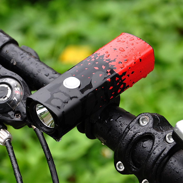 LED Bike Light Front Bike Light Headlight Bicycle Cycling Waterproof Multiple Modes Super Bright New Design 18650
