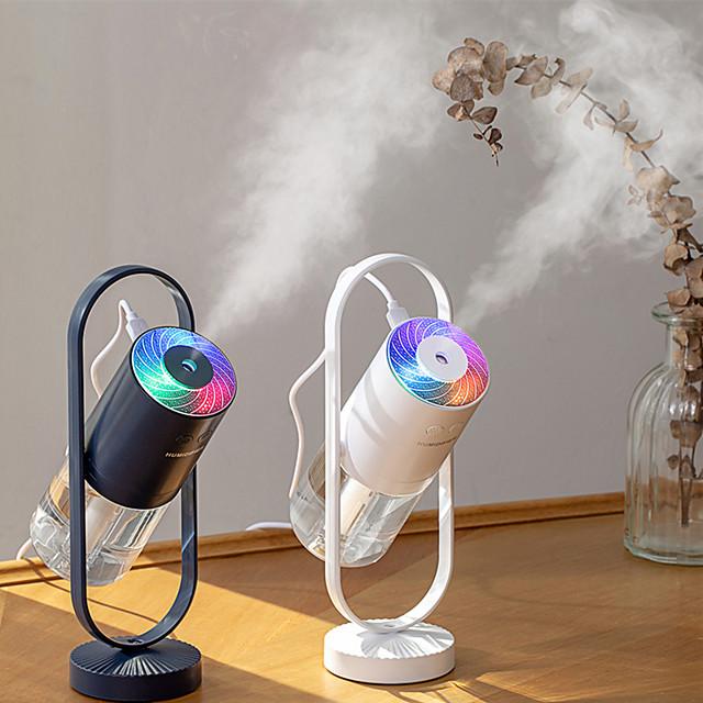 Creative Magic Shadow Humidifier Usb Small Cotton Bar Humidifier Colorful Projection Nightlight Desktop Air Humidifier