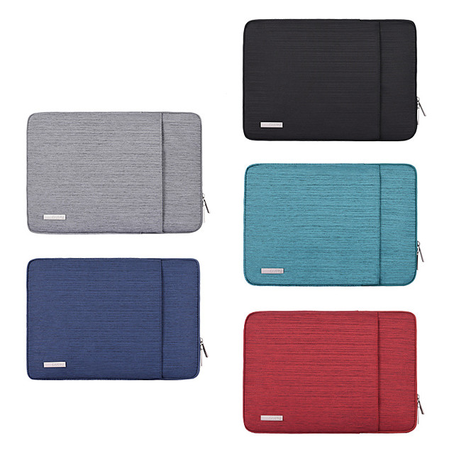 11.6 Inch Laptop / 12 Inch Laptop / 13.3 Inch Laptop Sleeve / Tablet Cases Polyester Solid Color / Contemporary for Men for Women for Business Office Waterpoof Shock Proof
