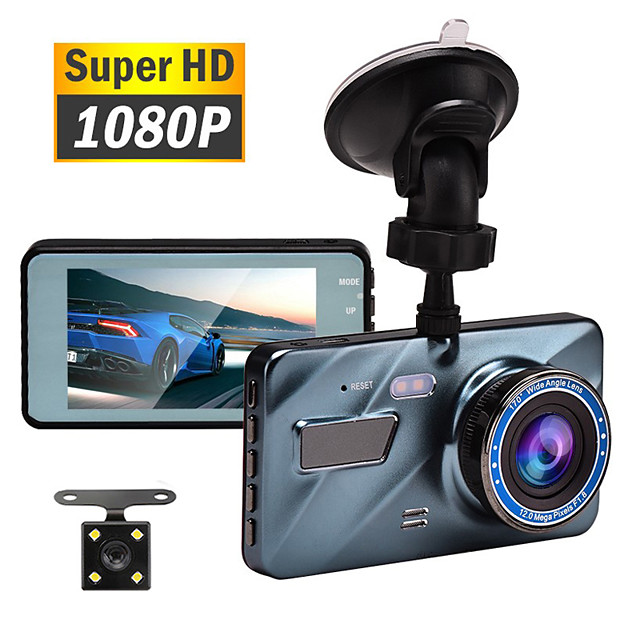 Car DVR Dash Cam Video Recorder 3 in 1 Rear View Dual Camera Full HD Car Camera 3.6