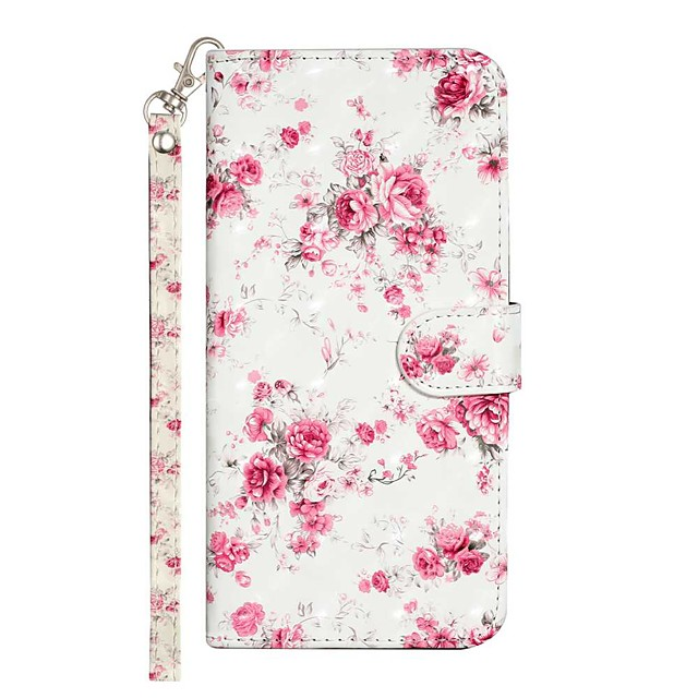 Case For Apple iPhone 11 iPhone 11 Pro iPhone 11 Pro Max Wallet Card Holder with Stand Full Body Cases Rose Flower PU Leather TPU for iPhone 12 iPhone Xs Max iPhone Xr iPhone Xs iPhone X