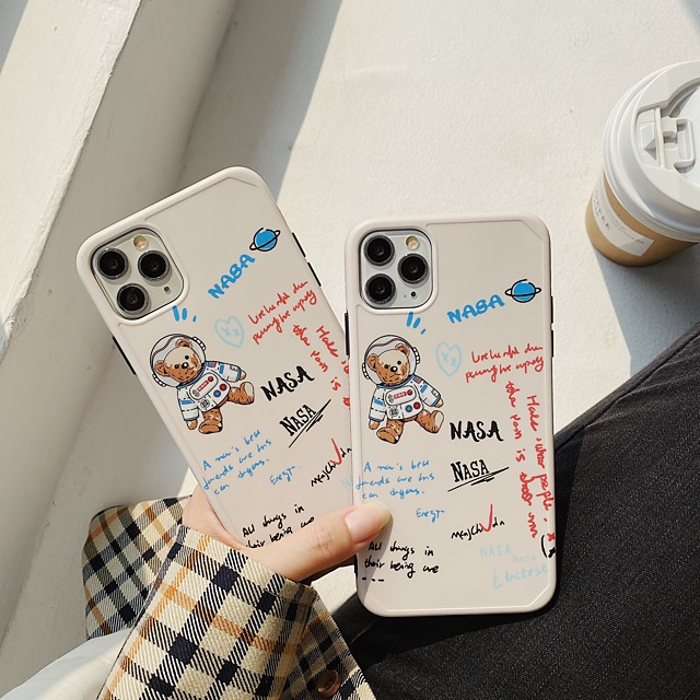 Case For Apple iphone 11 pro11proMax x XS XR XSMax 8p 8 7P 7 SE(2020)Cover TPU Cartoonsoft shell  iphone case set
