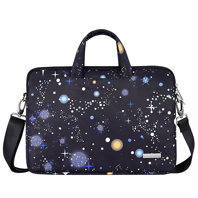 13.3 Inch Laptop / 14 Inch Laptop / 15.6 Inch Laptop Sleeve / Briefcase Handbags / Tablet Cases Polyester Galaxy / Novelty for Men for Women for Business Office Waterpoof Shock Proof