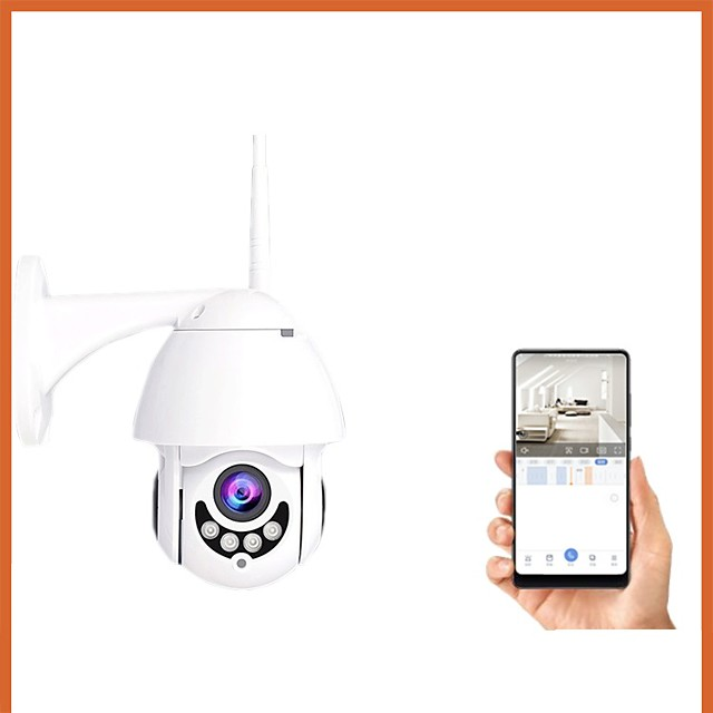 2020 New 1080p Wireless Wifi Night Vision Smart Home Outdoor Oecurity Ip Camera Onvif Monitor
