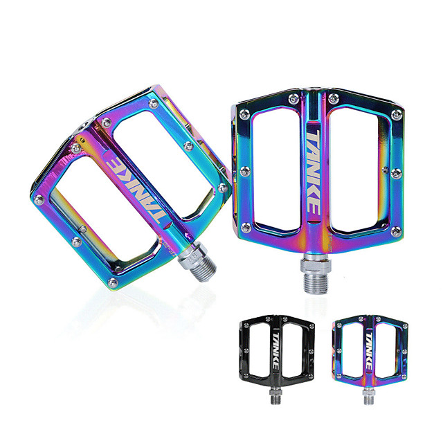 Bike Pedals Anti-Slip High Strength Durable Aluminium 7075 for Cycling Bicycle Mountain Bike MTB Multi color