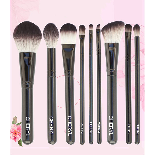 9 Pcs Makeup Brush Set Makeup Tools Beauty Exquisite Full Set Of Makeup Brushes Blush Concealer Eye Shadow Makeup Brush Set