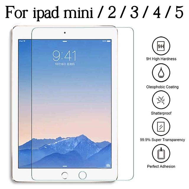 Protective Glass For Apple IPad Mini 5 4 7.9 inch Screen Protector iPad Mini3 Mini2 Mini1 7.9inch Tempered Glas Film
