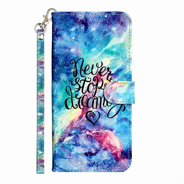 Case For Samsung Galaxy S20 S20 Plus S20 Ultra Wallet Card Holder with Stand Full Body Cases Blue Starry Sky PU Leather TPU for Galaxy A21s Galaxy A01 Galaxy A31 Galaxy A41 Galaxy A51 Galaxy A71