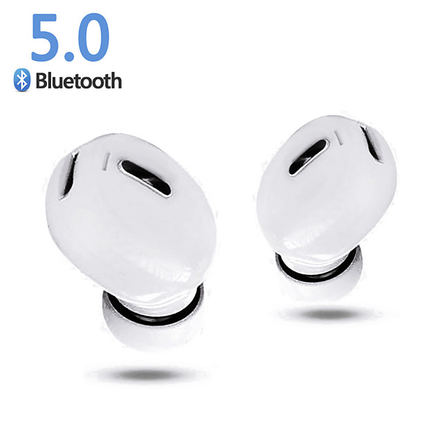 Mini Wireless Bluetooth Earphone V5.0 Stereo In-ear Headset with Mic Sports Running Earbuds Earphones