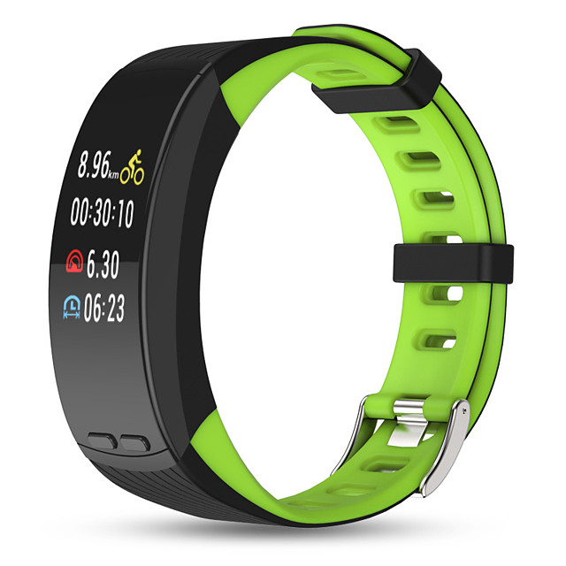 P5 Smart Wristband Built-in GPS Compatible with Android/ IOS/ Samsung Phones, Sports Tracker Support Heart Rate Monitor