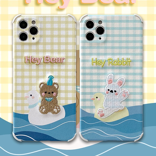 Case For iPhone 11 Pattern Back Cover Lines Waves Animal Cartoon TPU Case For iPhone 11 Pro Max / SE2020 / XS Max / XR XS 7 / 8 7 / 8 plus
