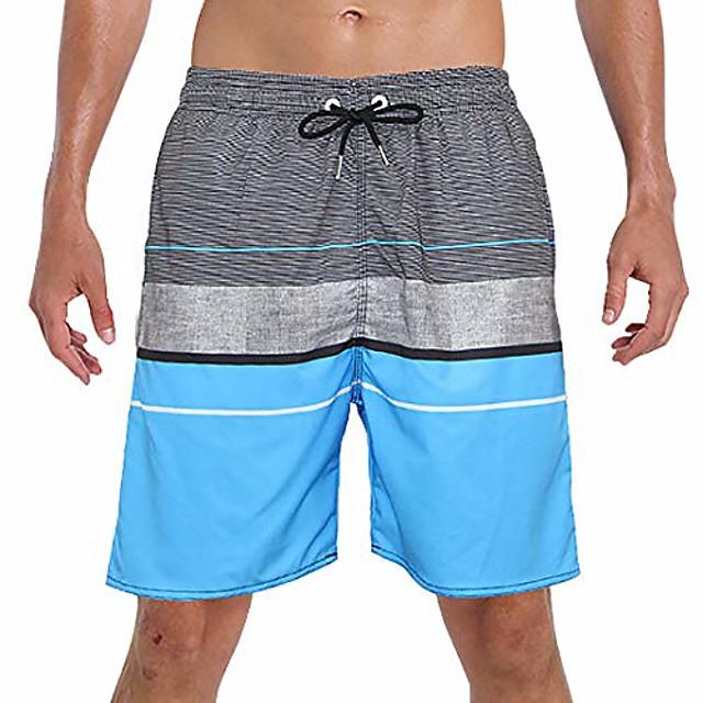 but& #39;s swim trunk beach shorts swimwear quick dry & #40;grayblue, small& #40;28