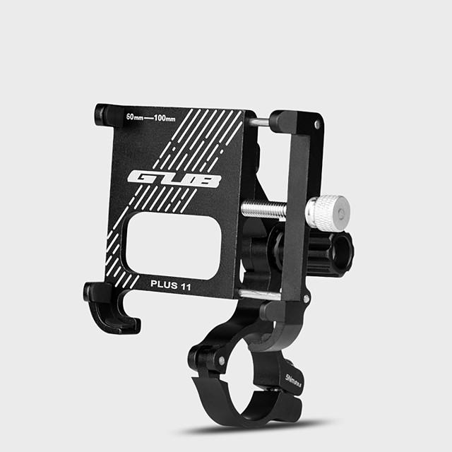Bike Phone Mount Adjustable / Retractable Extra Long Rotatable for Road Bike Mountain Bike MTB Folding Bike Aluminum Alloy Cycling Bicycle Black
