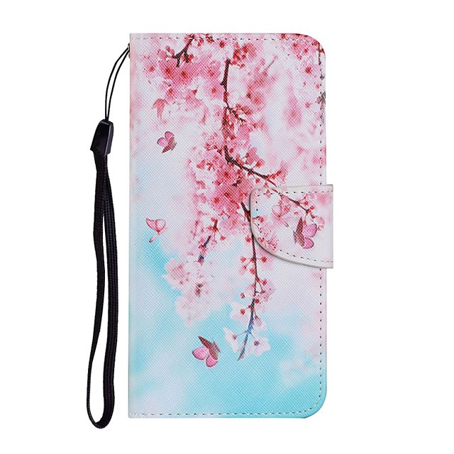 Case For Samsung Galaxy Note 20 Ultra S20 Plus S10E A11 A21S A31 A41 A51 A71 A01 A10 A20E A30 A40 A50 A70 M31 Wallet Card Holder with Stand Full Body Cases Flower PU Leather