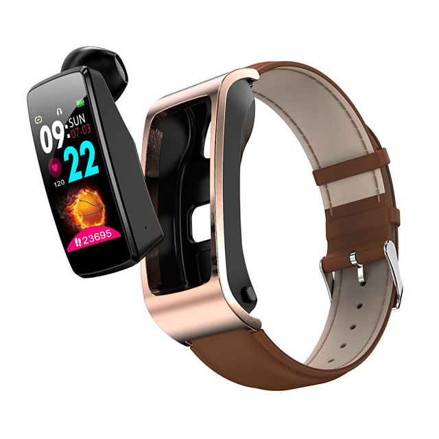 Smart WristBand & Wireless Earbuds 2 in 1,  Bluetooth Fitness Tracker for Samsung/ IOS/ Android Phones