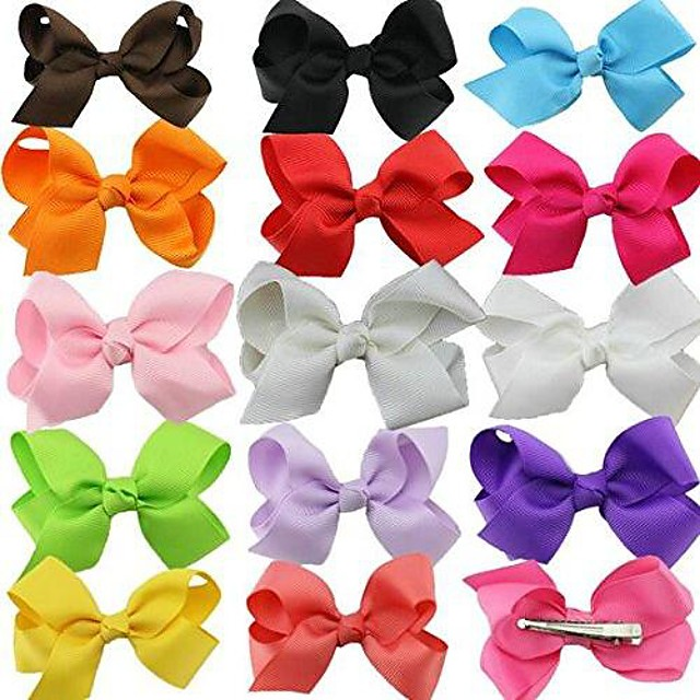 20/30pcs colorful dog hair bows mix styles dog bow pet grooming products mix colors pet hair bows topknot alligator clips