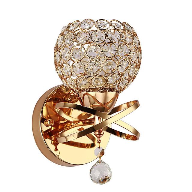 zidna svjetiljka kristalno zidno svjetlo luksuzna spavaća soba noćna zidna svjetiljka