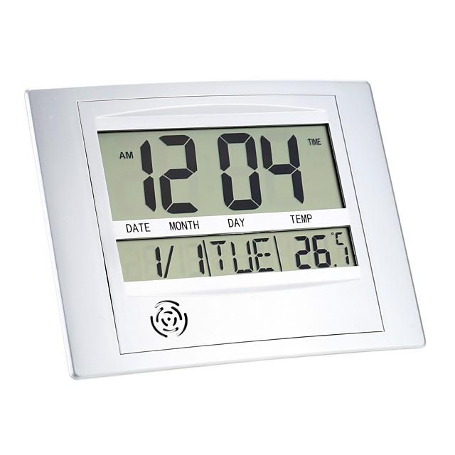 Multi-function Electronic Temperature Meter Digital Calendar Wall Clock Alarm Clock