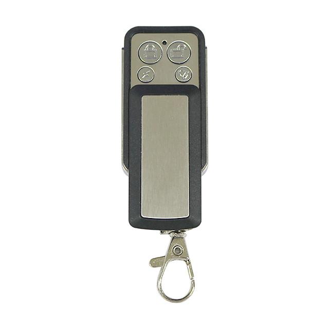 433MHz sliding cover metal four-key copy remote controller General copy remote controller for automobile garage door electric door rolling door and window