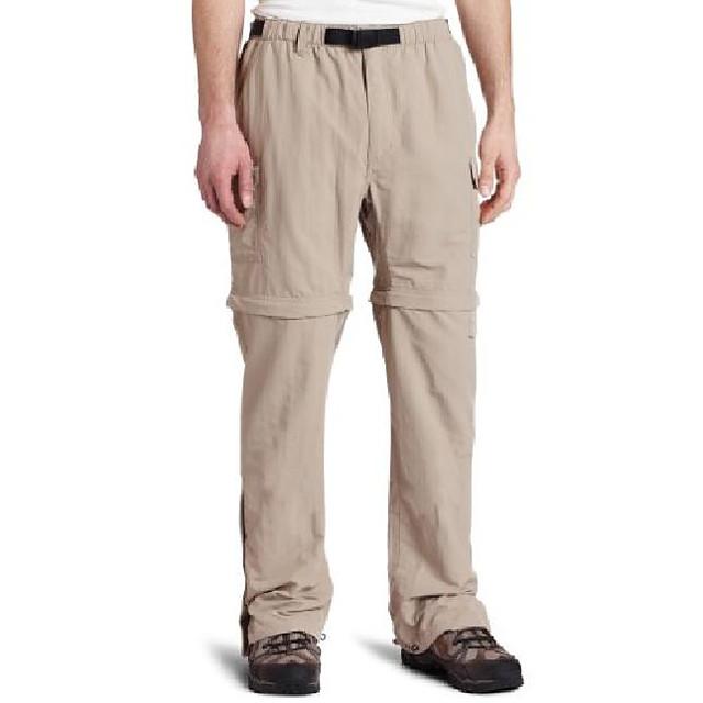 men's zip n' go pant ,khaki ,large x 34
