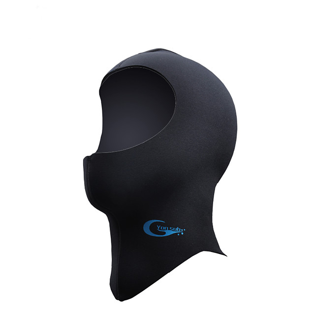 Diving Wetsuit Hood 3mm SBR Neoprene for Adults - Thermal / Warm Quick Dry Anatomic Design Diving Outdoor Exercise Diving / Boating / Stretchy / Solid Colored