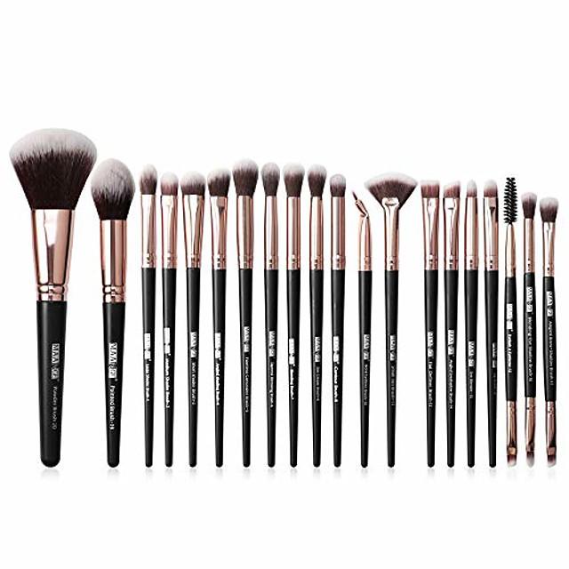 makeup brushes set 22pcs, premium cosmetic foundation eye brushes eyeshadow lip blending makeup tool