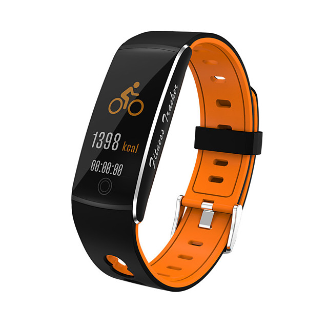 F10 Smart Bracelet 2020 Tempered Color Screen Smart Bracelet Watch Two-color Strap Waterproof Smart Sports Bracelet