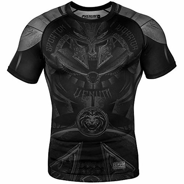 gladiator 3.0 rashguard - short sleeve gladiator 3.0 rashguard - short sleeves - black/black-s, black/black, small