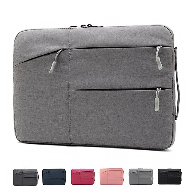 11.6 Inch Laptop / 12 Inch Laptop / 13.3 Inch Laptop Sleeve / Tablet Cases Polyester Solid Colored / Fashion for Men for Women for Business Office Waterpoof Shock Proof