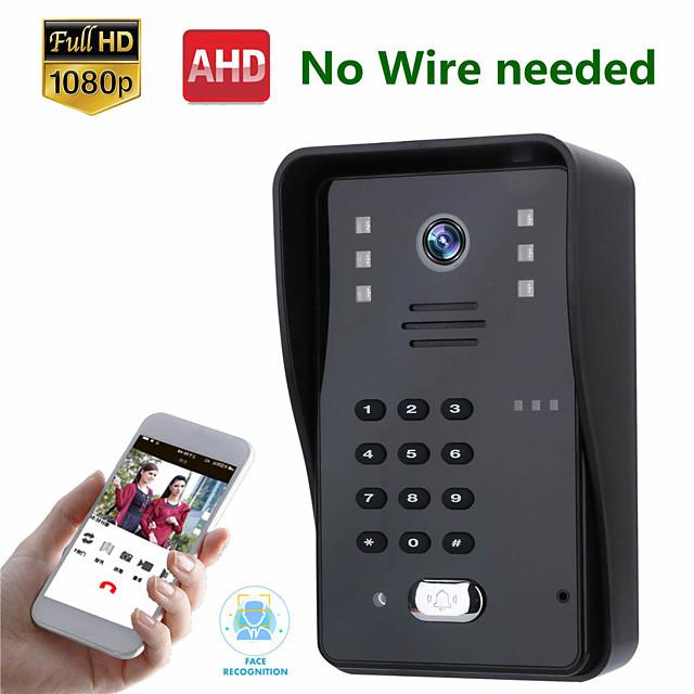 MOUNTAINONE SY008WF Wireless WIFI Video Doorbell Intercom System 1080P AHD Camera