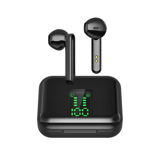 Business Bluetooth 5.0 Earphone Ear Hook Stereo Mini Wireless Headphones Sport In-Ear Earbuds With Mic
