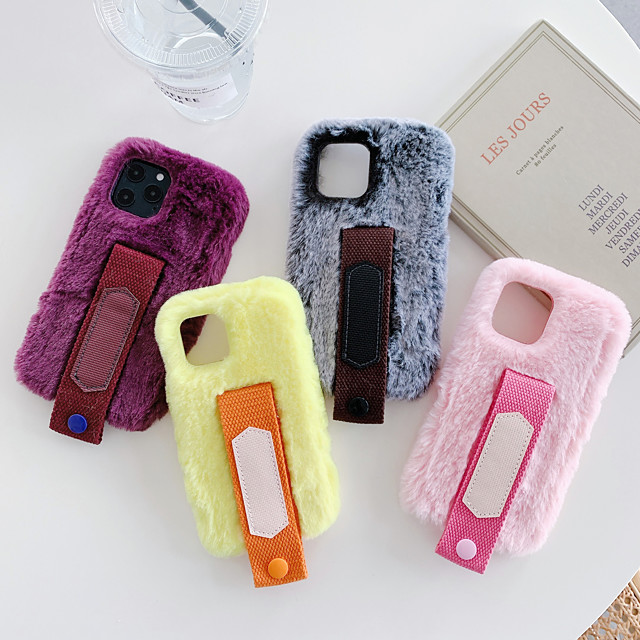 Case For Apple iPhone 11 Shockproof / Dustproof Back Cover Plush TPU For Case iphone 11 Pro/11 Pro Max/7/8/7P/8P/SE 2020/X/Xs/Xs MAX/XR