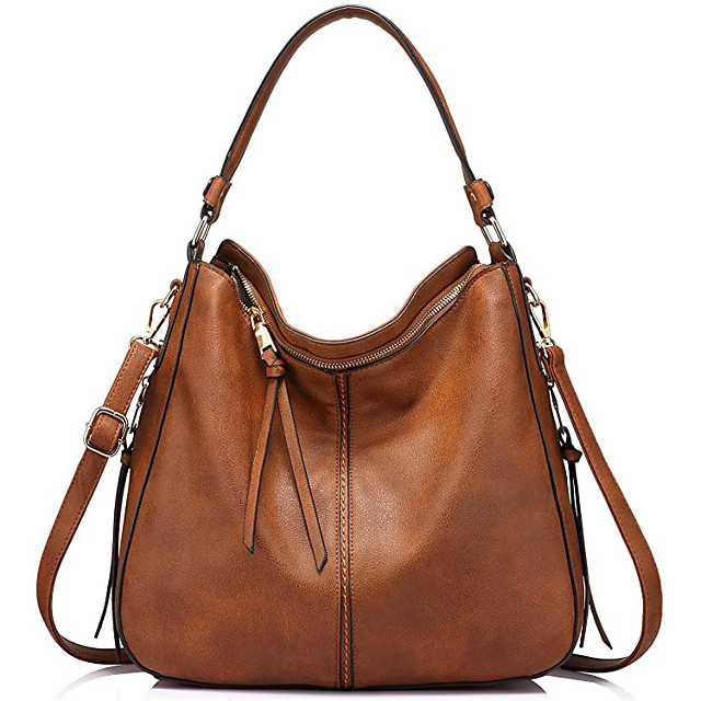 hobo bags for women faux leather purses and handbags large hobo purse with tassel