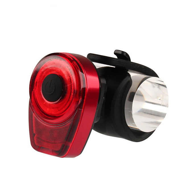 LED Bike Light Rear Bike Tail Light LED Bicycle Cycling Waterproof Portable New Design Durable USB 10 lm USB Red Multi Color Everyday Use Cycling / Bike