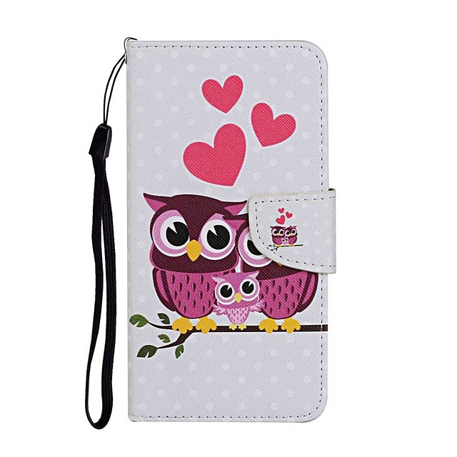 Case For Samsung Galaxy S20 S20 Plus S20 Ultra Wallet Card Holder with Stand Full Body Cases Owl Family PU Leather TPU for Galaxy A21 A11 A01 A51 A71 A41 A31 A21S