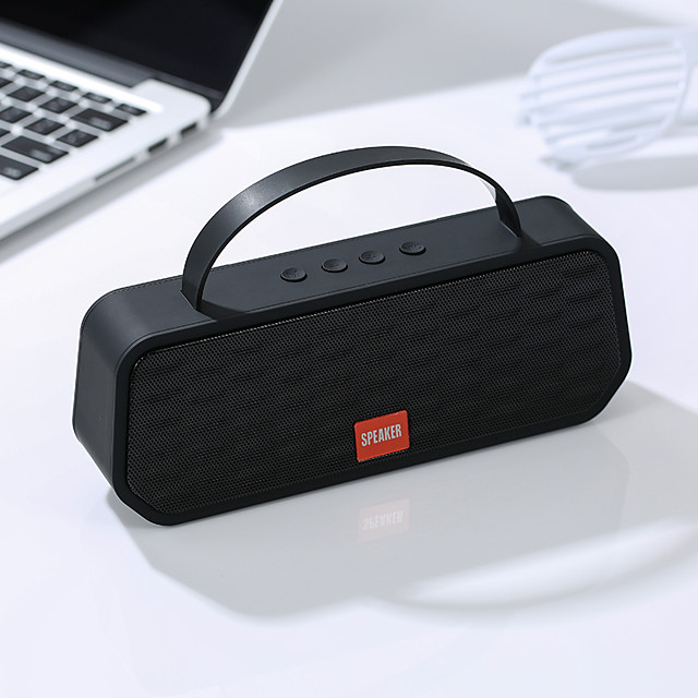 Bluetooth5.0 Speakers Portable Speakers Outdoor Wireless Bluetooth Stereo Speaker Support TF Card FM Handsfree Call
