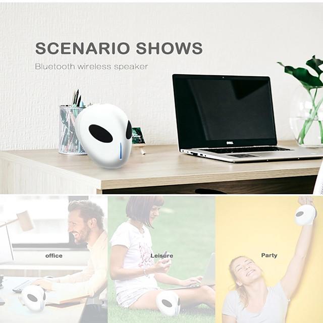 LITBest X18 Alien Wireless Bluetooth Speaker Stero Bass Creative Portable Sound Bar TF Card HD Stereo ET Appearance Speaker