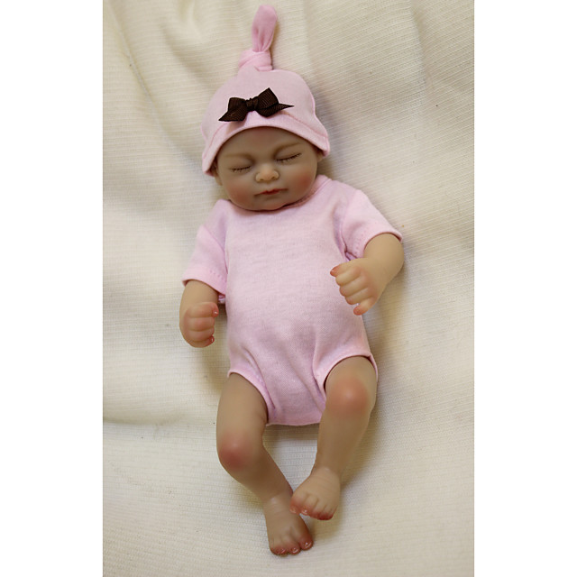 Otard Dolls 10 inch Reborn Baby Doll Baby Boy Baby Girl lifelike Gift Cute Tipped and Sealed Nails Natural Skin Tone 3/4 Silicone Limbs and Cotton Filled Body with Clothes and Accessories for Girls