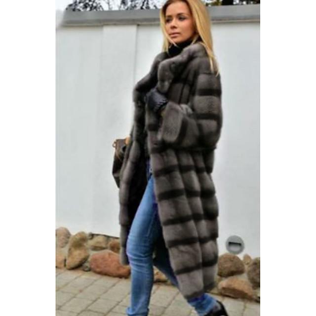 Long Sleeve Coats / Jackets Faux Fur Wedding Women's Wrap With Fur