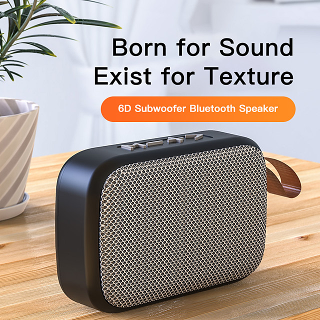 LITBest G2 Bluetooth Speaker Outdoor Portable Subwoofer USB Wireless Speakers 6D Stereo Home Music Surround TF-Card USB Flash Disk